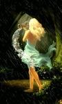Girl In Rain Live Wallpaper screenshot 2/3
