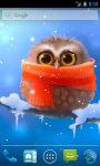 Funny Owl Live Wallpaper screenshot 1/4