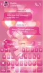 Shining Love Keyboard Theme screenshot 2/3