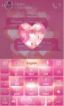 Shining Love Keyboard Theme screenshot 3/3
