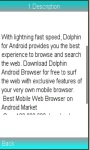 Dolphin Browser for Android Review screenshot 1/1
