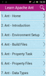 Learn Apache Ant screenshot 1/3