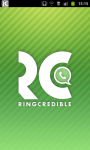 RingCredible - Cheap international WiFi/3G calls screenshot 1/6