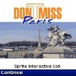 DonTmiss Paris Free screenshot 1/2