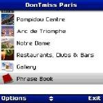 DonTmiss Paris Free screenshot 2/2