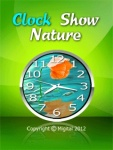 Clock Show Nature 2 Free screenshot 1/6