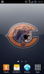 Chicago Bears NFL Live Wallpaper screenshot 3/3