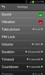Mobile Alarm System Gold screenshot 6/6