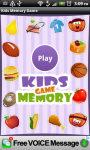 Kidstar Memory Game screenshot 1/3
