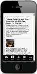 Robert De Niro News screenshot 2/4
