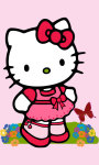 Funny Images of Hello Kitty HD Wallpaper screenshot 5/6