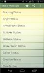 Status Messages screenshot 3/5