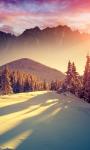 Sunset Winter Shadows Live Wallpaper screenshot 1/3