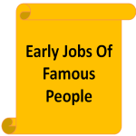 Early Jobs Of Famous People screenshot 1/1
