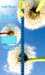 Dandelion Zipper Lock Screen Free screenshot 4/6