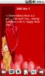 Rose Day SMS App screenshot 2/3