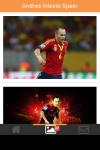 Andres Iniesta Spain Wallpaper screenshot 3/5