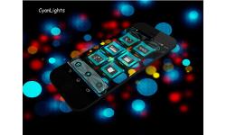 CyanLights Next Launcher 3D Theme screenshot 3/4