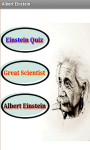 Albert Einstein Quiz screenshot 2/4