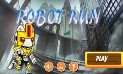 Robot Run Game screenshot 1/5