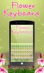 Flowers keyboard Theme Free screenshot 4/6