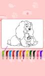 Coloring Adorable Dog screenshot 2/3