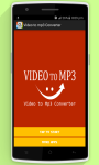 Video to Mp3 Free screenshot 1/5