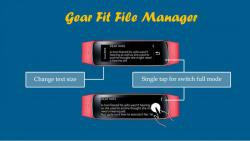 Gear Fit File Manager sound screenshot 2/5