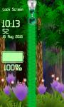 Fireflies Zipper Lock Screen screenshot 5/6