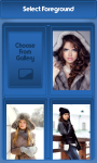 Winter Girl Zipper Lock Screen screenshot 3/6