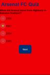 Arsenal Quiz screenshot 2/2