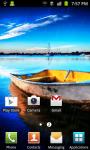 Rain Boat Live Wallpaper screenshot 3/4