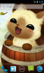 Kitten in a barrel Live Wallpaper screenshot 1/4