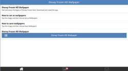 Disney Frozen HD Wallpapers screenshot 2/6