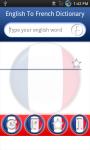 Sharpsol English to French Dictionary  screenshot 1/6