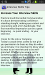 Interview Skills Tips screenshot 2/2