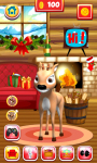 Talking Reindeer Free screenshot 2/6