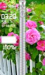 Pink Rose Zipper Lock Screen screenshot 5/6