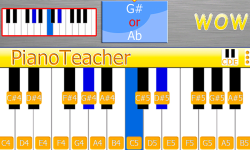 PianoTeacher Free screenshot 1/5