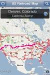 US Railroad Map screenshot 1/1