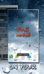 Rain Drops On Your Phone LWP screenshot 3/3