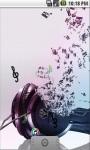 3D Music Abstract Live Wallpaper screenshot 1/5