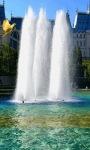 City Fountain Live Wallpaper screenshot 1/3