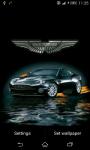 Aston Martin sport car Live Wallpaper screenshot 2/3