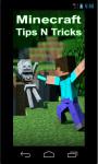 Minecraft Tips N Tricks screenshot 1/3