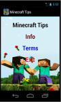 Minecraft Tips N Tricks screenshot 2/3
