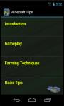Minecraft Tips N Tricks screenshot 3/3