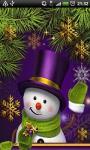 Christmas Snowman Live Wallpaper1 screenshot 1/2