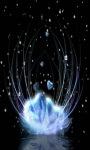 Blue Hearts LWP screenshot 2/3
