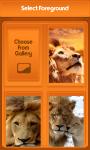 Lion Zipper Lock Screen Best screenshot 3/6